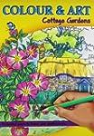 Colour & Art Colouring Book Cottage G...