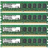8GB KIT 4 x 2GB Dell Precision Workstation Series 380 380n 390 T3400 DIMM DDR2 ECC Unbuffered PC2-6400 800MHz RAM Memory Genuine A-Tech Brand (Tamaño: 8GB KIT (4 x 2GB) (800MHz))