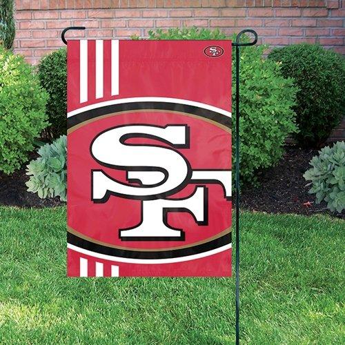 Party Animal San Francisco 49ers NFL Dye Sublimated Bold Logo Garden Flag