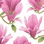 Caspari Serviette Magnolia mystique d...