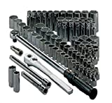 Craftsman 9-34824 79 Piece 6 Point Standard/Metric 1/2-Inch Drive Socket Wrench Set