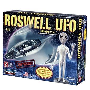 Amazon.com: Lindberg Roswell UFO model kit: Toys & Games
