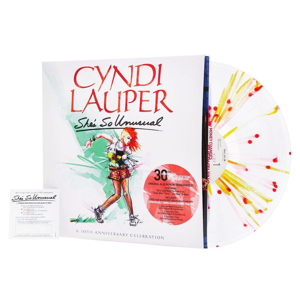 Cyndi Lauper She so Unusual Vinyl Cyndi Lauper She's so