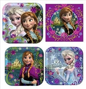 Amazon.com: Disneys Frozen Birthday Party Supplies Value