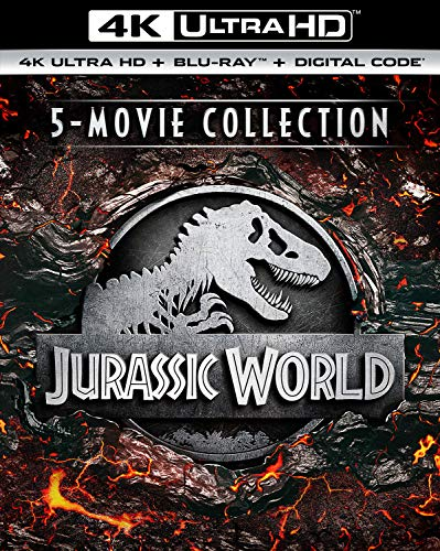 4K Blu-ray : Jurassic World 5movie Collection (10 Discos)