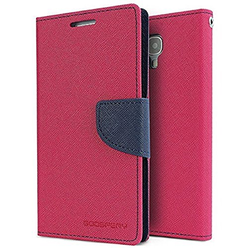 RJR Mercury Goospery Wallet Style Flip Back Case Cover For Motorola Moto G2(2nd Gen)-Pink&Blue  available at amazon for Rs.244