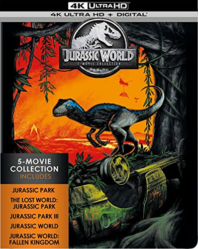 4K Blu-ray : Jurassic World: 5-movie Collection (With Blu-ray, Limited Edition, Boxed Set, 4K Mastering, Digital Copy)