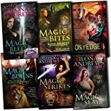 Ilona Andrews Ilona Andrews Kate Daniels 6 Books Collection Pack Set RRP: £47.94 Magic Bites, Magic Burns, Magic Strikes: A Novel, Magic Bleeds (, Book 4), Magic Slays:, Book 5, On the Edge (The Edge, Book 1)
