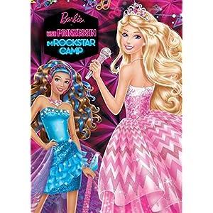 Barbie - Eine Prinzessin im Rockstar-Camp: Buch zum Film wattiert