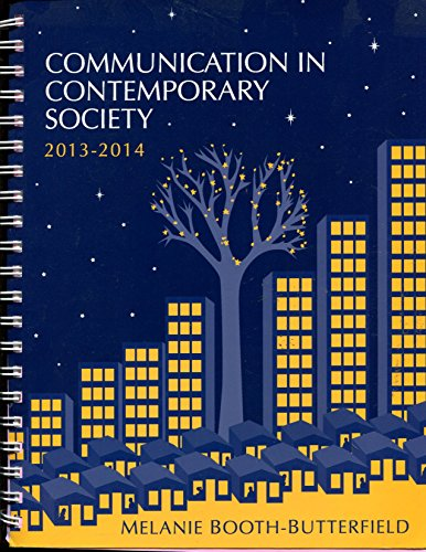 Communication in Contemporary Society 2013-2014