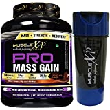 MuscleXP PRO Mass Gainer 2Kg (4.4 Lbs), Double Chocolate - With Whey Protein, Isolate & 24 MultiVitamins, Digestive...
