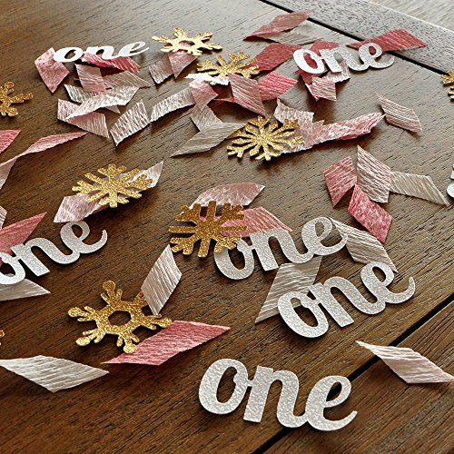 winter-onederland-party-decorations-pink-and-gold-party-decorations-2-packs-of-one-and-snowflake-con