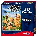 Noris Spiele 606031083 - Hunde 3D Puzzle