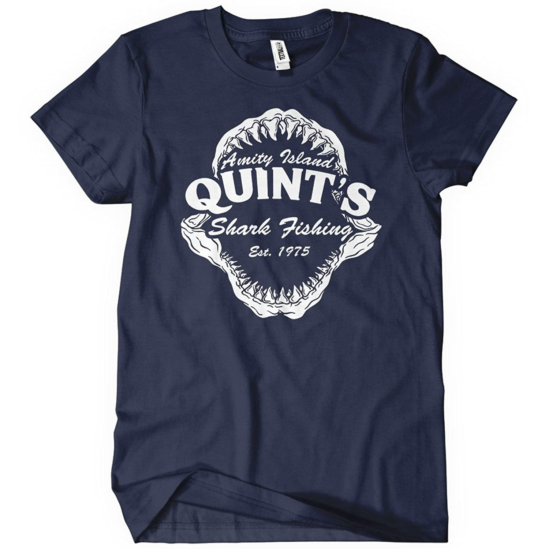 Jaws quint shirt images for Jawbone fishing shirts