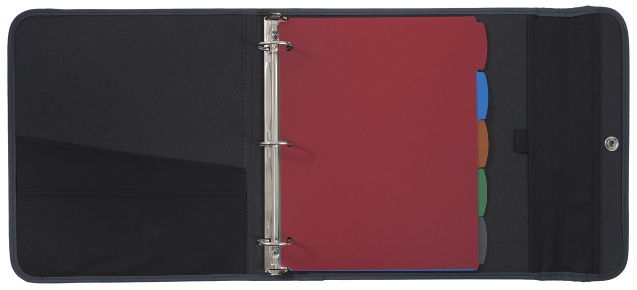 Galleon mead trapper keeper sewn binder 3 ring binder 1 5 inch red 72175 for Trapper keeper 2 sewn binder with exterior storage