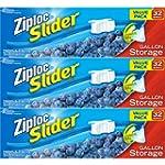Ziploc Slider Storage Bags Gallon Val...