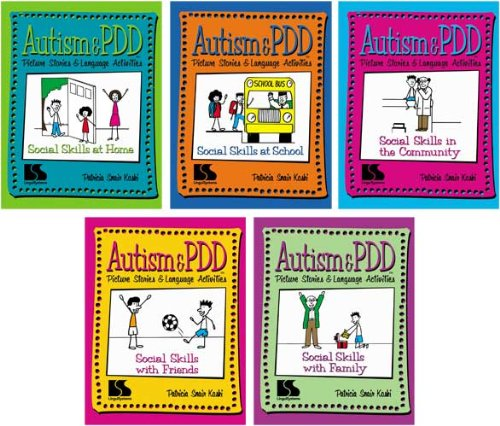 Autism & PDD Picture Stories & Language Activities Social Skills 5-Program Set (Autism And Pdd Picture Stories compare prices)