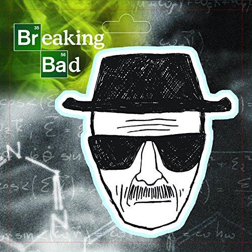 Breaking Bad ST BRBA HEISEN1 Decal (Heisenberg Drawing) (Bad Drawings compare prices)
