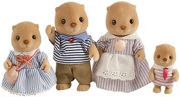Sylvanian Families - Famille Loutre de Mer - Sea Otter Family (Figurines)