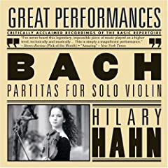 Hilary Plays Bach