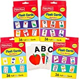 Fisher Price Flash Cards Super Set Toddler Kids 4 Packs (Abc Flash Cards, Numbers Flash Cards, Colors And Shapes...