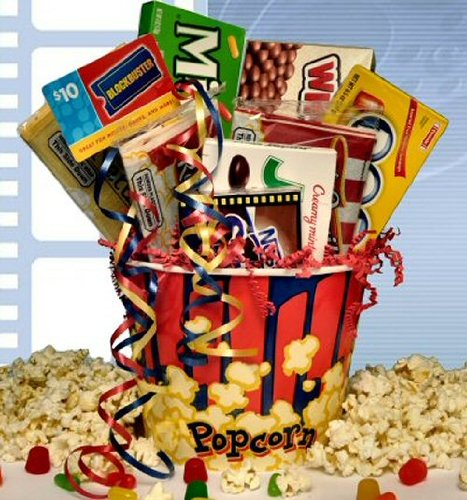 """Rave Review"" Movie Gift Basket front-63364"