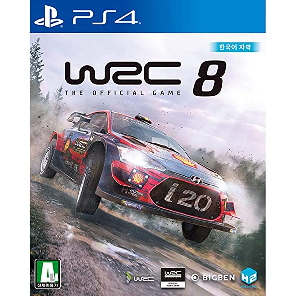 WRC 8: FIA World Rally Championship Korean Edition - PlayStation4