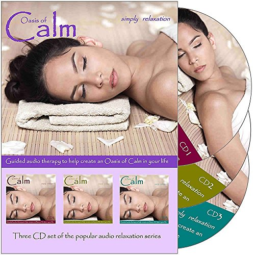Triple Relaxation CD Set to help you get to sleep. For Relaxation, Meditation, Sound Therapy, Deep Sleep, Stress Relief, Anxiety and Spa Sessions. High Quality Digital Stereo. (Meditation Oasis Cd compare prices)