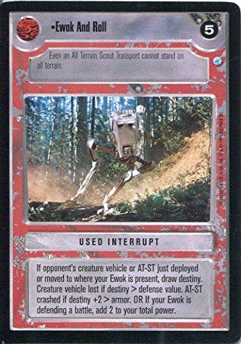 Star Wars-CCG Endor Card-Giacca a vento Ewok And Roll