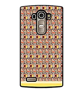 PrintDhaba Pattern D-1501 Back Case Cover for LG G4 (Multi-Coloured)