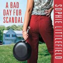 A Bad Day for Scandal: A Crime Novel (       UNABRIDGED) by Sophie Littlefield Narrated by Barbara Rosenblat