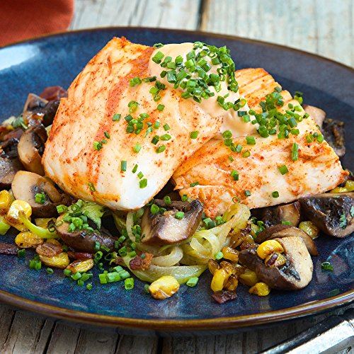 Halibut-with-Chayote-with-Bacon-and-Mushrooms-by-Chefd