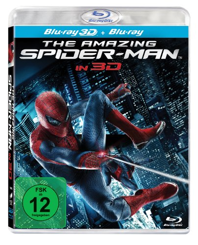 Nach oben The Amazing Spider-Man [Blu-ray 3D + Blu-ray]