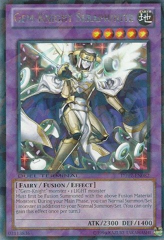 Yu-Gi-Oh! - Gem-Knight Seraphinite (DT07-EN082) - Duel Terminal 7B - Duel Terminal Edition - Rare Parallel Rare (Gem Knights compare prices)