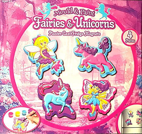 Ameublement-Peinture-Fairies-Unicorns