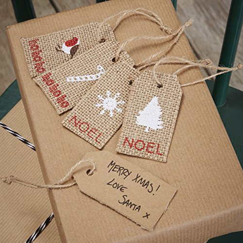 ginger-ray-christmas-hessian-luggage-gift-tags-x-8-with-twine-vintage-noel