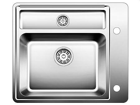 BLANCOSTATURA 6-U, undermount sink, stainless steel satin polish, for 60 cm cabinets, 514265