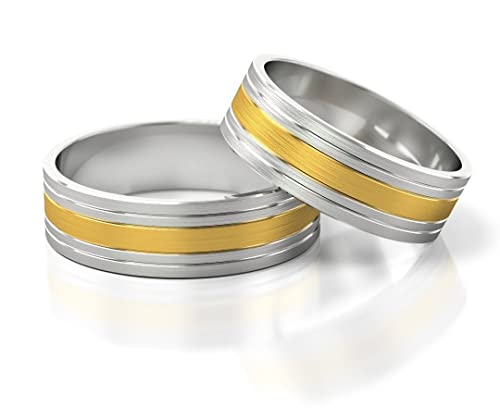 Wedding rings, price for two rings, 50 years warranty S-898
