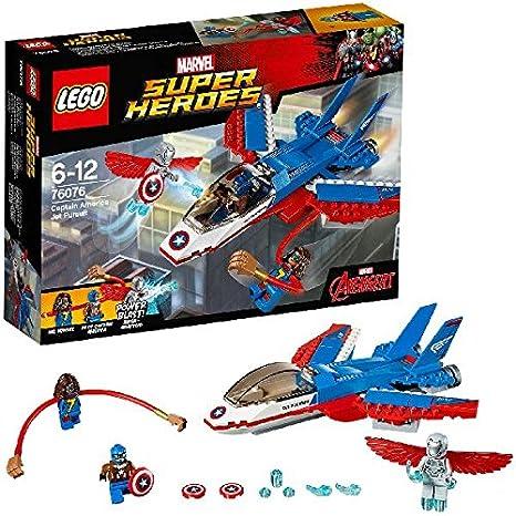 LEGO - 76076 - Marvel Super Heroes - La Poursuite en Avion de Captain America