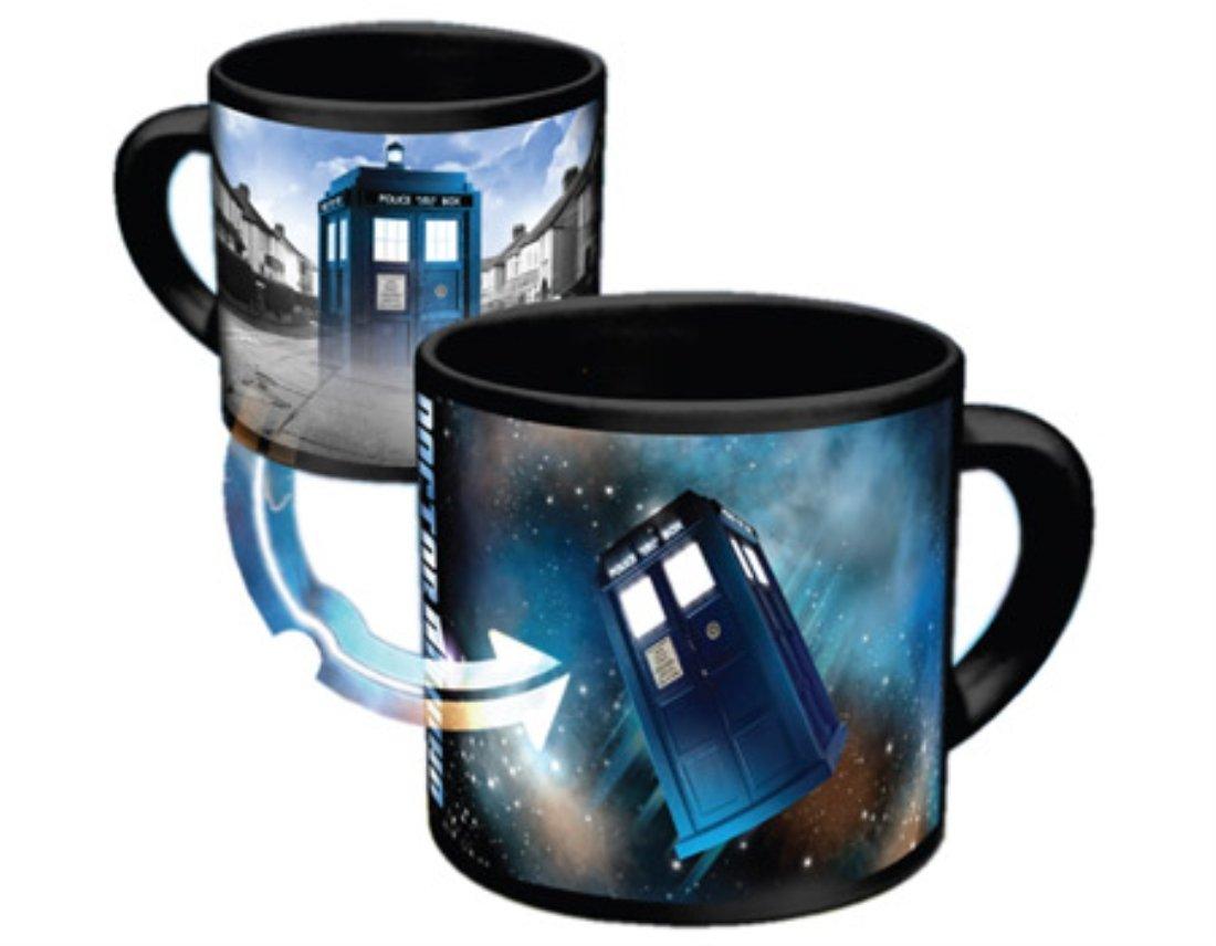 Zeon - Taza sensible al calor, diseño de Tardis de Doctor Who   Comentarios y descripción más