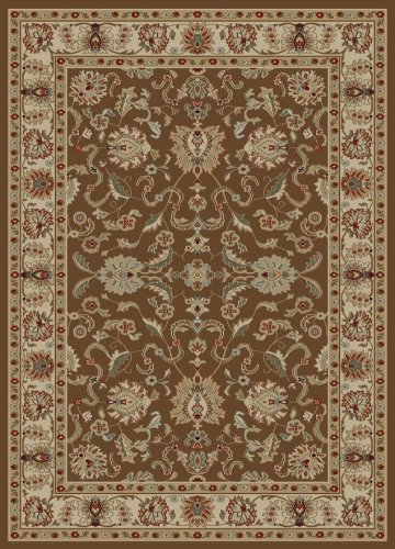 Concord Global Ankara Agra Brown 5'3X7'3 - Area Rug