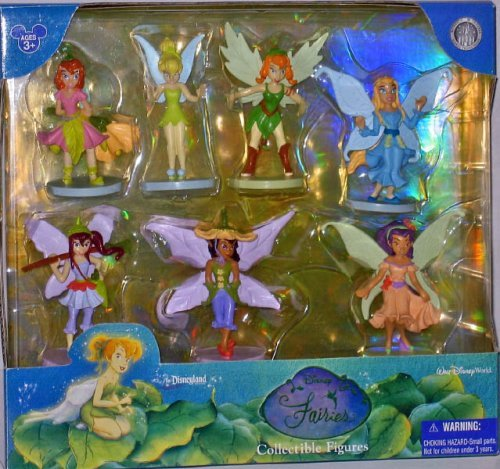 Disney Fairies with Tinker Bell WDW Figurine Figure Set