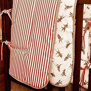 Sock Monkey Crib Comforter
