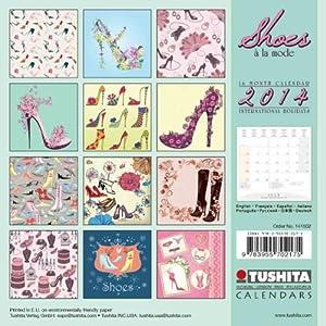 Shoes a la Mode 2014 Mini Calendar (Mini Calendars)
