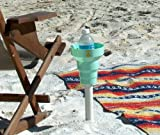 Beach Cup Holder-This Amazing Beach Cup Holder (Seafoam Green) Holds Drinks At The Beach And In Your Car. The KAZeKUP Ultimate Cup Holder is the perfect accessory for the beach to hold all your favorite drinks close by. When you leave the beach take off t