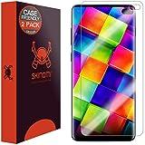 Samsung Galaxy S10 Plus Screen Protector (S10+ 6.4'')(Case Compatible)(2-Pack), Skinomi TechSkin Full Coverage Screen Protector for Samsung Galaxy S10 Plus Clear HD Anti-Bubble Film