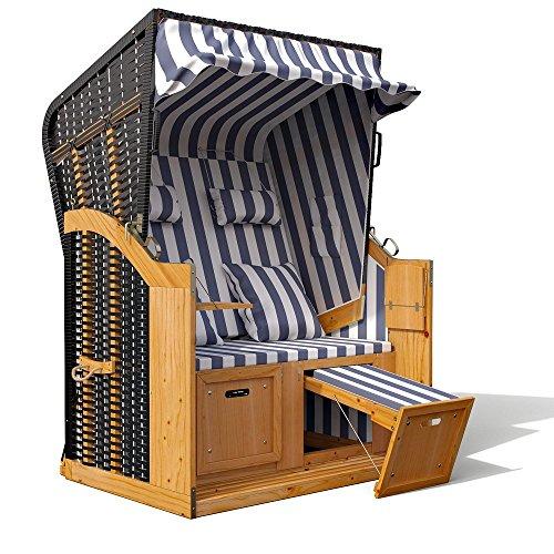 strandkorb ostsee volllieger xxl schutzh lle gartenliege strandstuhl beach. Black Bedroom Furniture Sets. Home Design Ideas