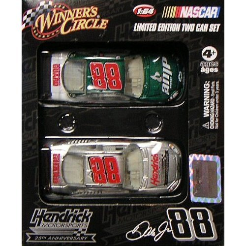 winners-circle-hendrick-motorsports-nascar-dale-jr-88-limited-edition-two-car-set-national-guard-amp