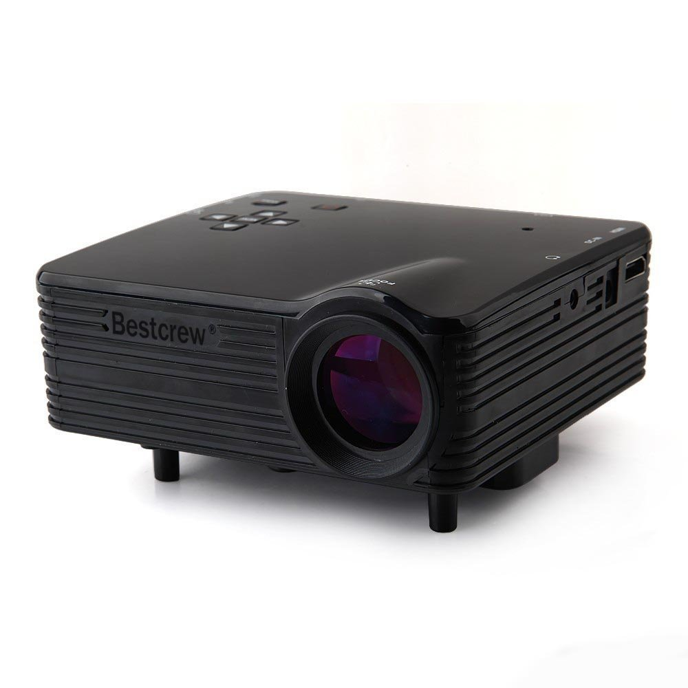 Mini LED LCD Home Cinema Theater Projector With HDMI / USB / VGA / Micro SD / TV/ AV
