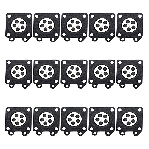 HIPA (Pack of 15) 95-526 Metering Diaphragm Assembly for Walbro WA WT WY WZ Series Carburetor (Diaphragm Carburetor compare prices)